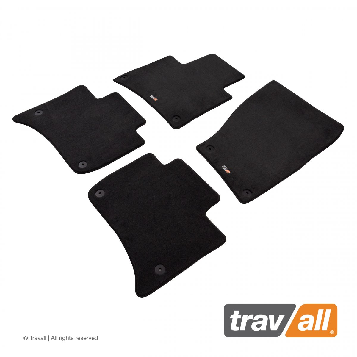 Travall® MATS [LHD] for Volkswagen Touareg (2010 - 2014)