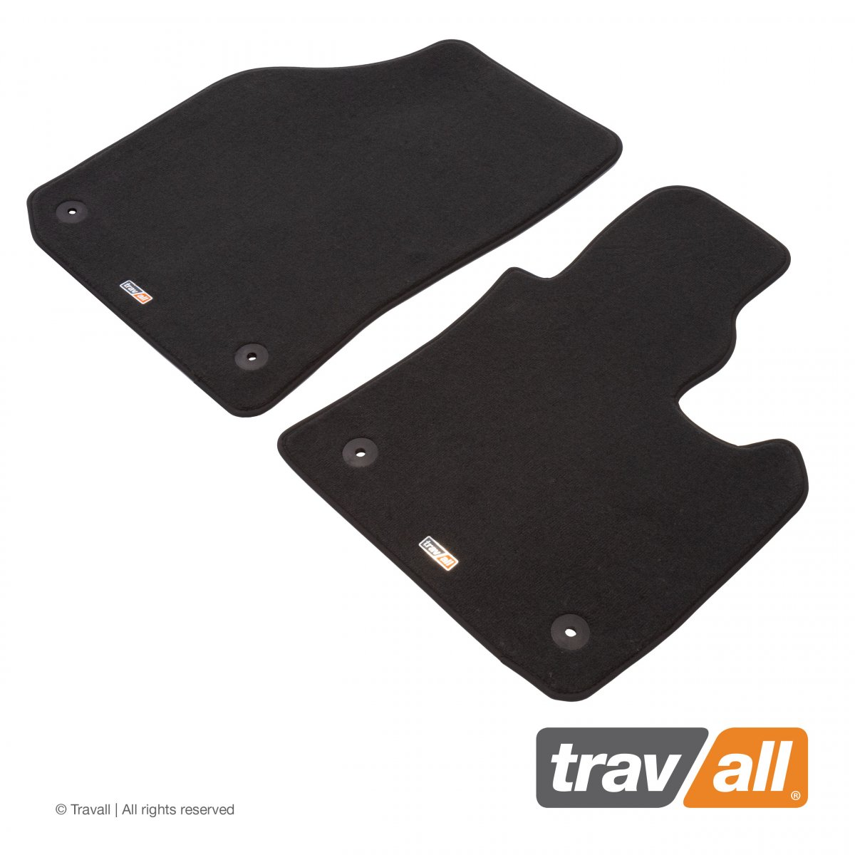 Travall® MATS [RHD] for Volkswagen Caddy / Caddy Maxi (2010 - )