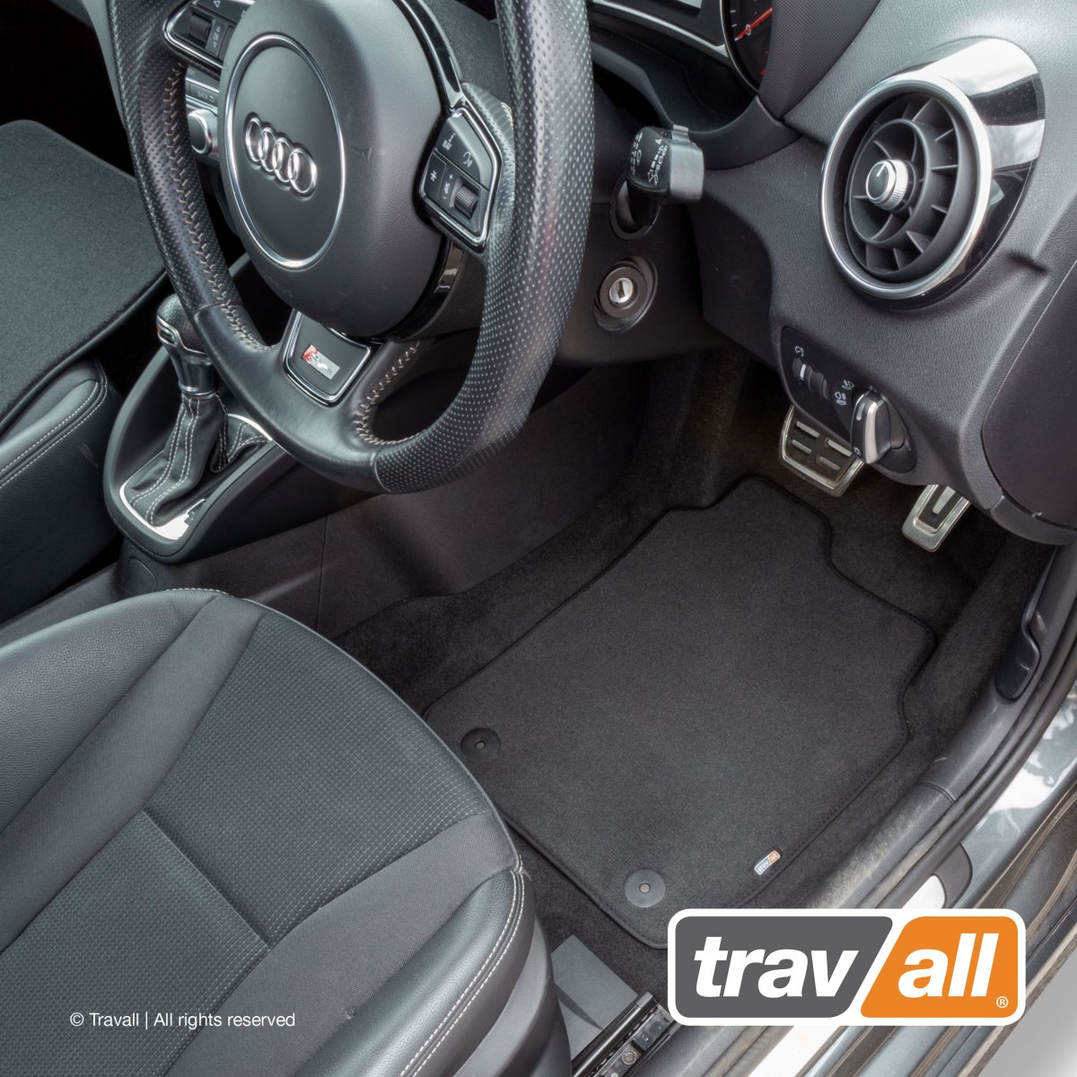 Travall® MATS [RHD] for Audi A6/S6 Saloon / Estate (2011 - 2018)