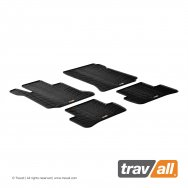 Rubber Mats for C-Class Saloon W204 2007 - 2011