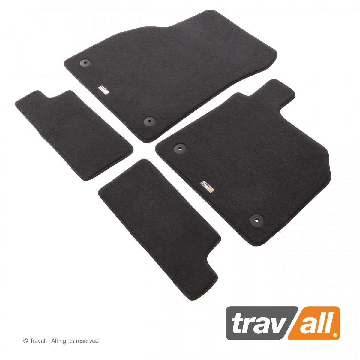 Travall® MATS [RHD] for Audi TT Coupe / Roadster (2014 - )