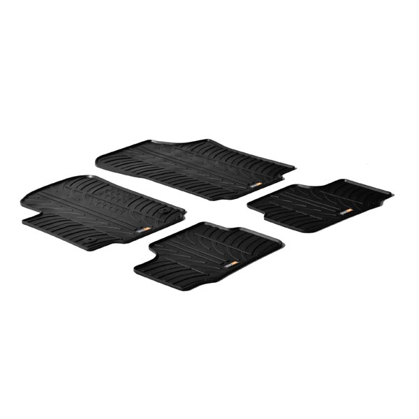Travall® Mats for SEAT Mii / Skoda Citigo / Volkswagen Up! (2011 >)
