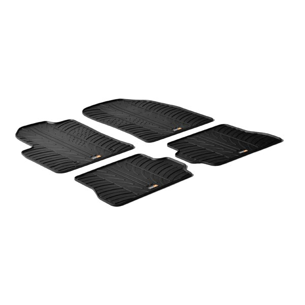 Travall® Mats per Ford Fiesta Hatchback (2002-2008) / Fusion (2002-2012)